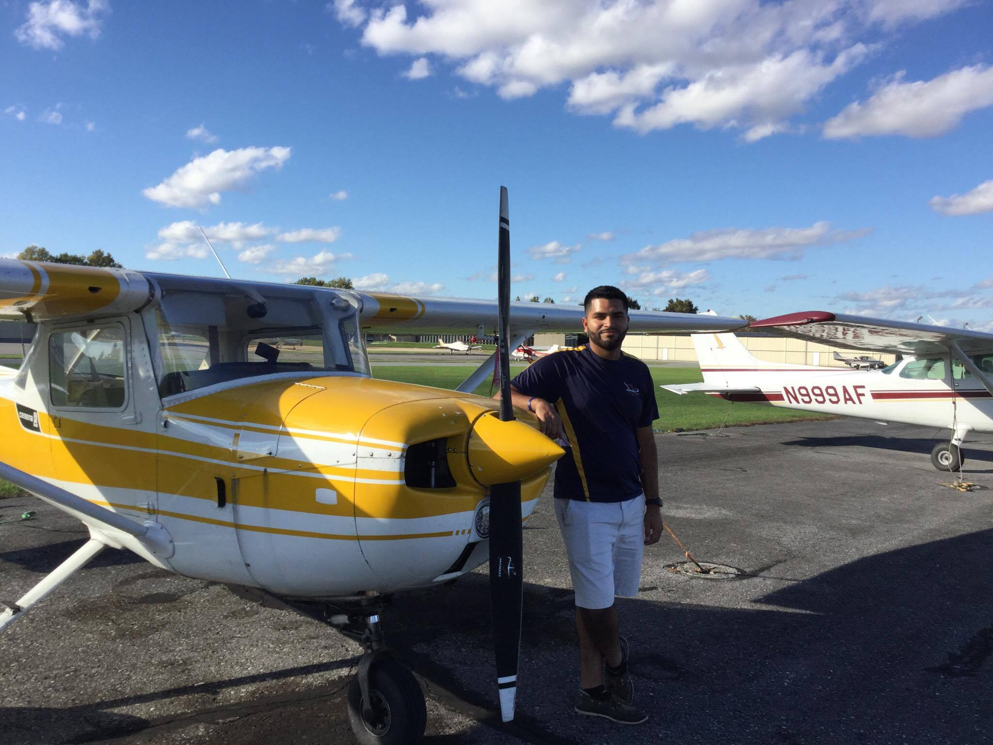 James Private Pilot Check Ride