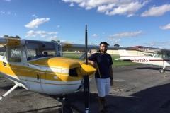 James Private Pilot Check Ride